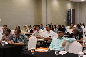 Peserta Rakor Pemenuhan Pasokan Daya Listrik Bagi Sarana dan Prasarana Pendukung Produksi Kelautan dan Perikanan Regional Maluku-Papua di Sorong (Rabu, 31/8)
