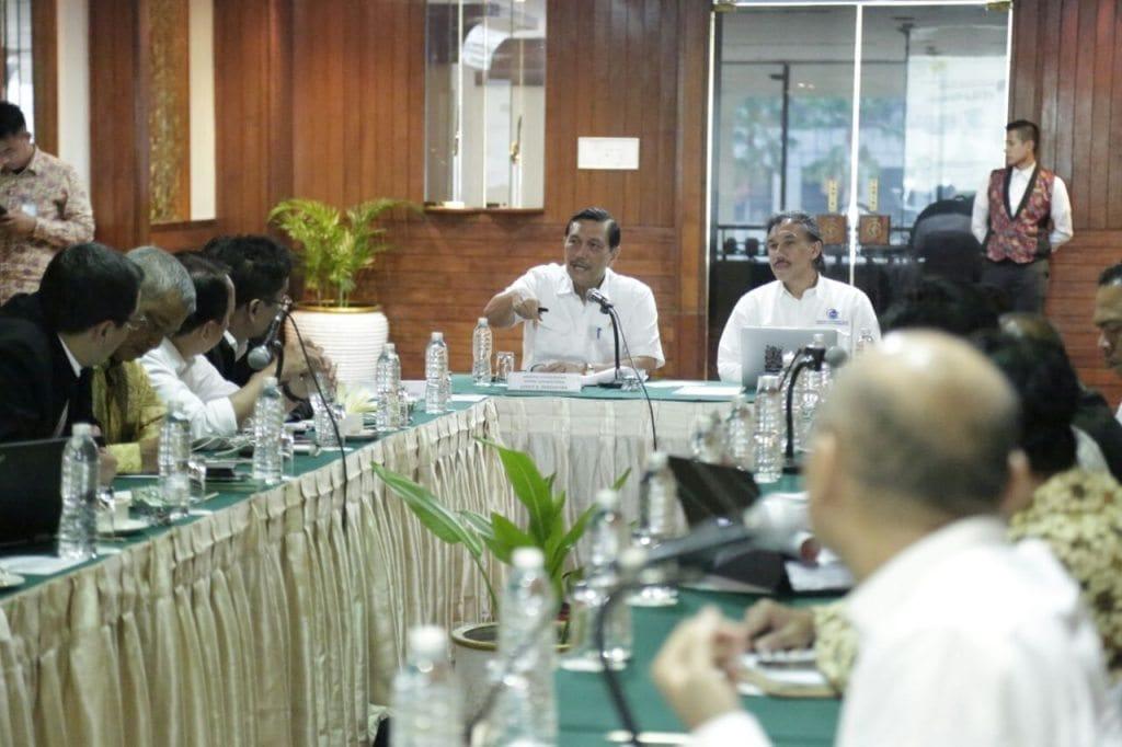 Menko Maritim Luhut B. Pandjaitan hadiri FGD Dukungan Kebijakan Infrastruktur pada Pembangunan Poros Maritim