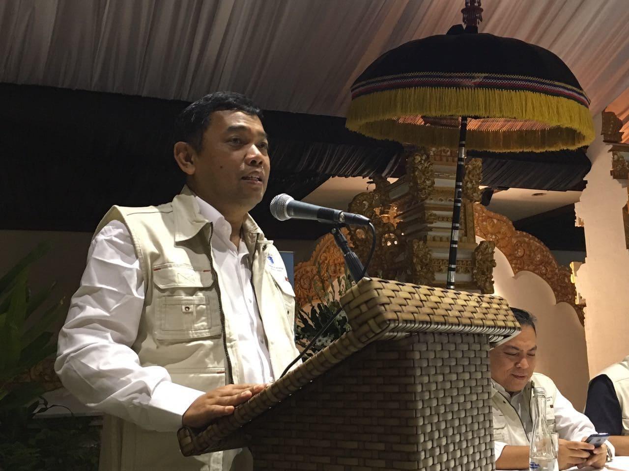 Deputi Koordinasi SDA dan Jasa Kemenko Maritim membuka sosialisasi aplikasi yachters