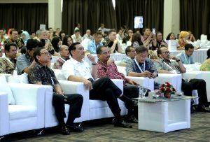 """Menko Maritim, Luhut B. Pandjaitan menghadiri acara Rakornas Kemenpar III """"Go Digital Be The Best"""", di Jakarta (15/9)."""