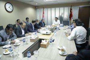 Menko Maritim, Luhut B. Pandjaitan Meeting w/ Mr. Valiollah Muhammadi (Dubes Iran), Mr. Abbas Aliabadi (CEO of Mapna Group of Iran), Pak Alwi Shihab di Lt.4 Kantor Menko Maritim