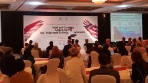 Menteri Koordinator Bidang Kemaritiman Luhut B. Pandjaitan menjadi pembicara pada US-Indonesia Invesment Summit 2016 di hotel Mandarin Jakarta, 15 September 2016