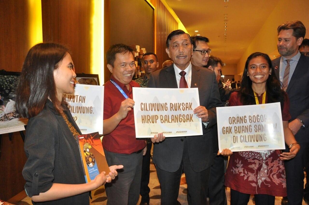 Menko Luhut : Indonesia Berkomitmen untuk Melindungi Laut Dari Polusi Sampah Plastik
