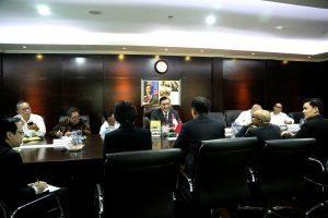 Menteri Koordinator Bidang Kemaritiman, Luhut B. Pandjaitan Rapat bersama Mr. Ong Ye Kung -Singapore's Acting Minister for Education/Senior Minister of State for Defence di Kantor Kemenko Maritim, Jakarta, Rabu (2/11)
