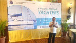 Pembukaan aplikasi YACHTERS yg di buka oleh asisten deputi jasa kemaritiman Bapak Okto Irianto, kementerian koordinator bidang kemaritiman di Batavia Marina (1/12)