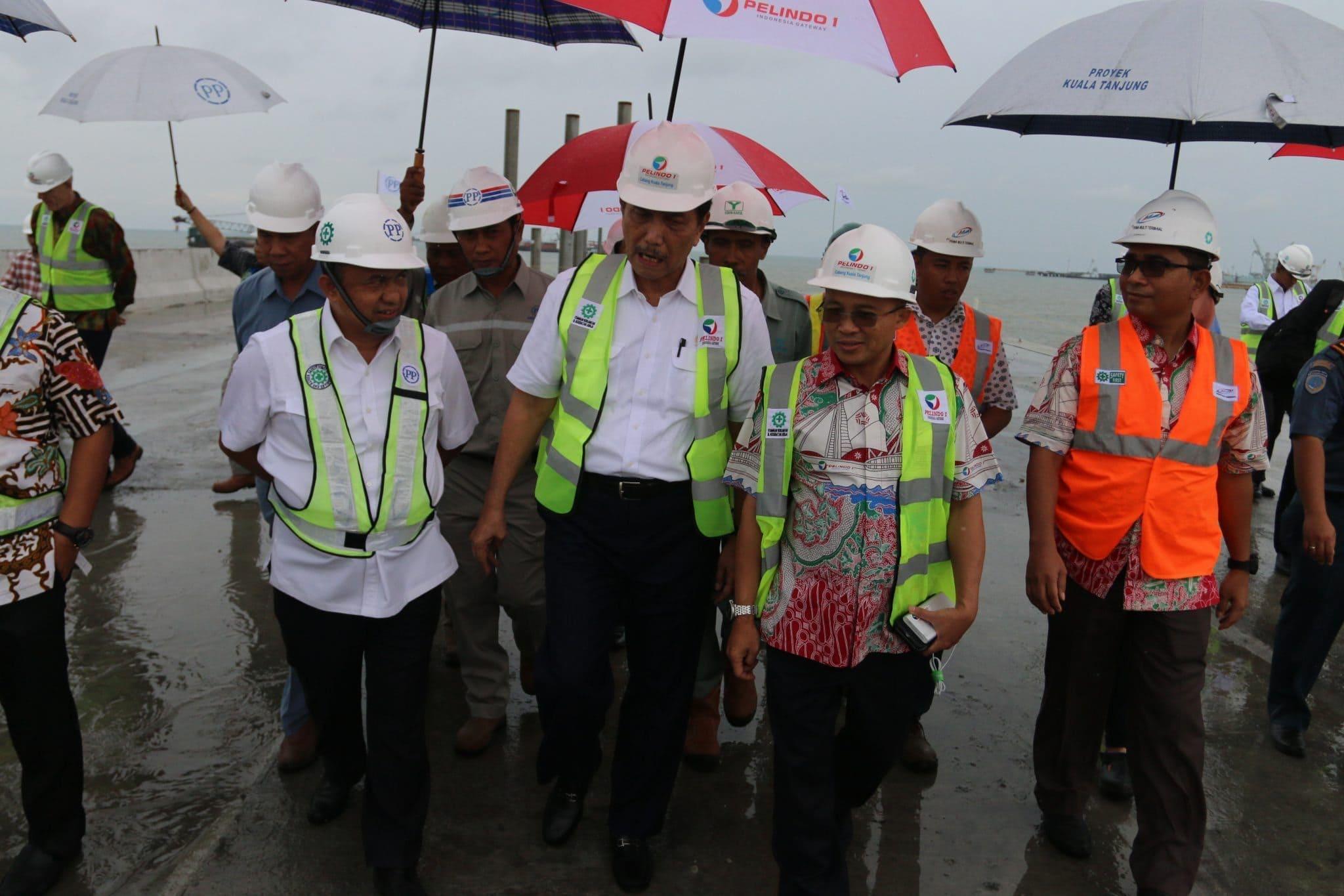 Pelabuhan Kuala Tanjung diharapkan dapat menciptakan pusat ekonomi baru