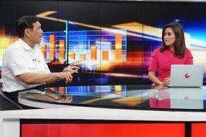 Menko Luhut B. Pandjaitan saat menjadi bintang tamu Kabar Bursa TV ONE (16/12)