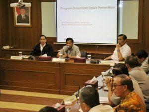 Menko Luhut ceramah kepada anggota PEPABRI , Jakarta (9/01