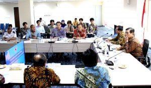 Menko Luhut B Pandjaitan pimpin Rakor Menteri Penandatanganan MOU Detail Engineering Design untuk Pelabuhan Patimban (10/1)