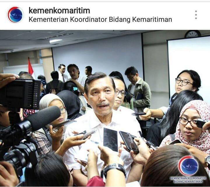 Klarifikasi Menko Maritim Luhut Binsar Pandjaitan Perihal Penamaan Pulau-Pulau di Indonesia