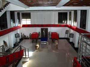 Tim khusus Kemenko Maritim menindaklanjuti arahan Wakil Presiden Republik Indonesia menjadikan Toraja sebagai destinasi kawasan strategis pariwisata nasional ke-11, Objek Wisata Museum Art Centre Toraja Utara (07/02)