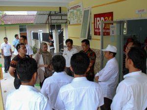 Tim khusus Kemenko Maritim menindaklanjuti arahan Wakil Presiden Republik Indonesia menjadikan Toraja sebagai destinasi kawasan strategis pariwisata nasional ke-11, Rumah Sakit Lakipadada Tanah Toraja (07/02)