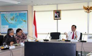 Menteri Koordinator Bidang Kemaritiman Luhut B Pandjaitan Pimpin Rakor Langkah dan Kebijakan Indonesia dalam Kerjasama CTI-CFF di Rupat Selatan Lt.2 Kantor Mariti. (14/2)