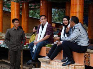 Tim khusus Kemenko Maritim menindaklanjuti arahan Wakil Presiden Republik Indonesia menjadikan Toraja sebagai destinasi kawasan strategis pariwisata nasional ke-11, Objek Wisata Lolai Toraja Utara (07/02)