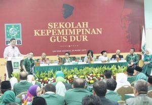 Menko Maritim Luhut B. Pandjaitan Menjadi Keynote Speaker Sekolah Kepemimpinan Gus Dur di Graha Gus Dur Jakarta. (27/03)