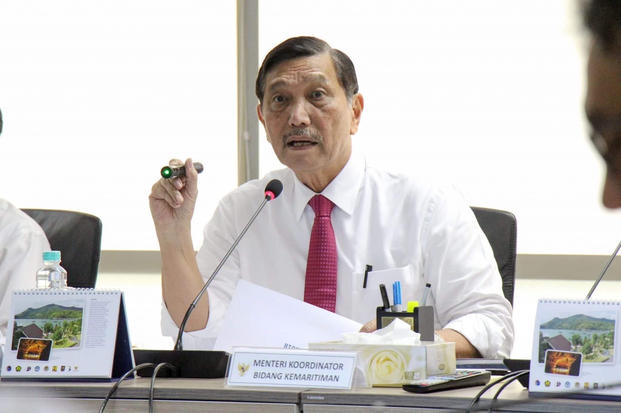 Menko Luhut B. Pandjaitan Pimpin Rakor Persiapan IMF-World Bank Annual Meeting di Bali Tahun 2018