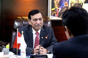 Menteri Koordinator Bidang Kemaritiman Luhut B Pandjaitan Terima Y.M. Nubuo Kishi (State Minister for Foreign Affairs Japan), (7/3)