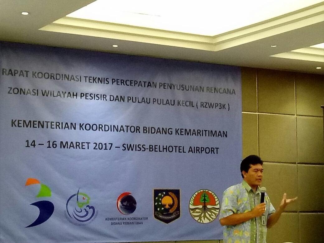 Jika RZWP3K tidak segera dilaksanakan, investor enggan investasi ke Indonesia