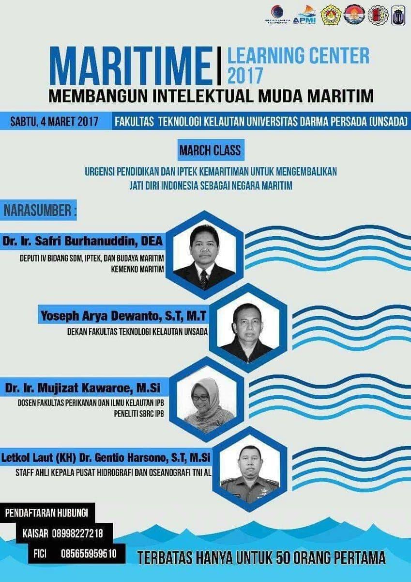 Maritime Learning Center untuk Bangun Intelektual Muda Maritim