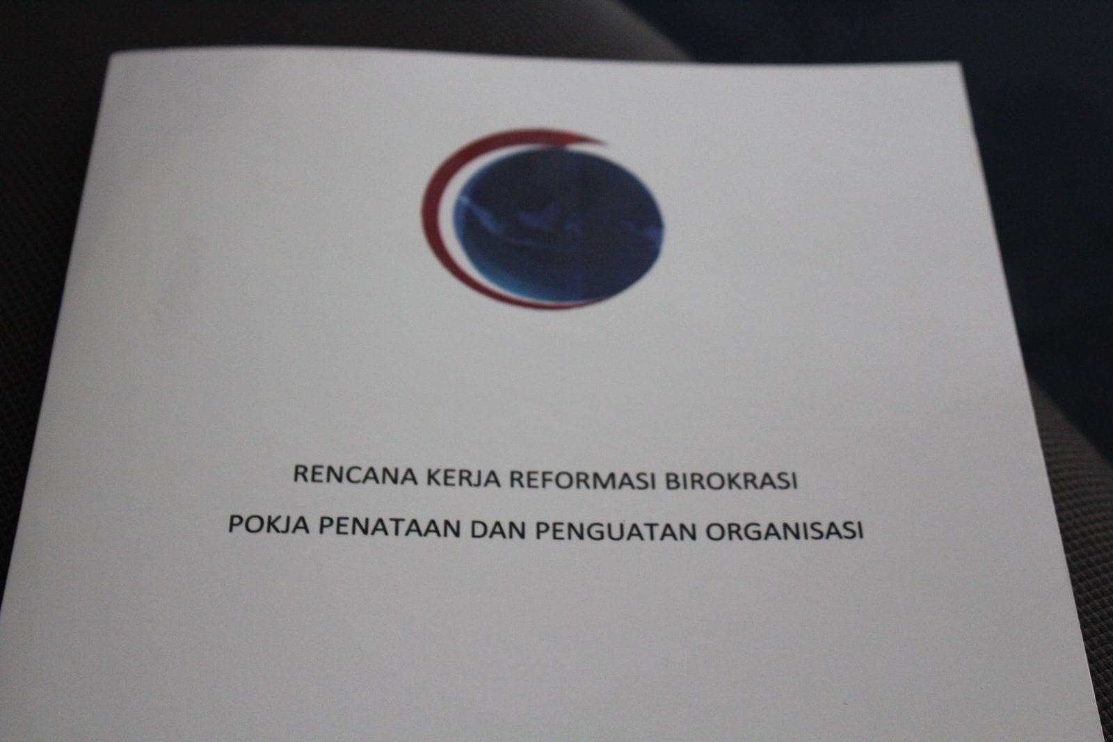Rencana Kerja Manajemen Perubahan Kementerian Koordinator Bidang Kemaritiman Tahun 2017