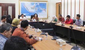 Rapat Sosialisasi GBBS dan Aksi Bersih di Kemenko Maritim, Selasa (04/04).