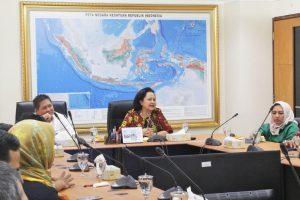 Rapat Sosialisasi GBBS dan Aksi Bersih di Kemenko Maritim, Selasa (04/04)
