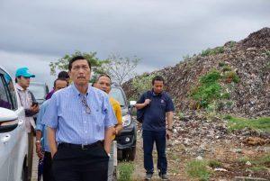 Menko Luhut Kunjungi TPA Suwung Bali