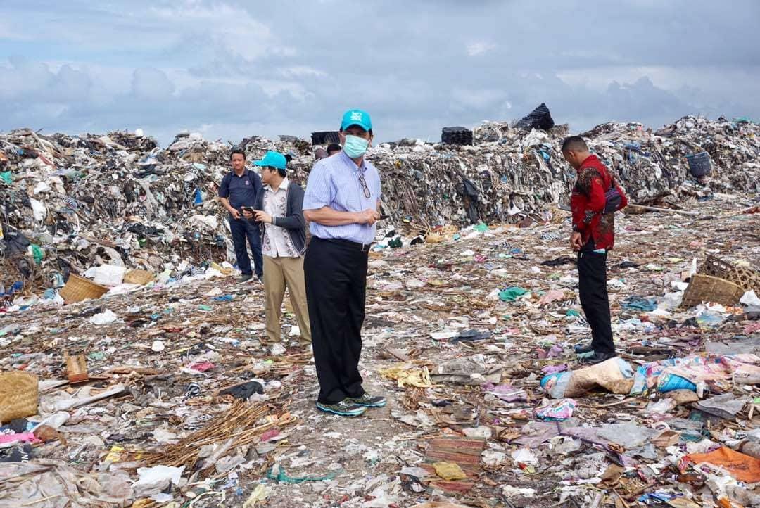 Menko Maritim : Permasalahan Pengolahan Sampah di TPA Suwung Terkait WTE dan SLF Harus Diselesaikan