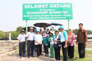 Kunjungi STP-BAPPL Serang, DWP Kemenko Maritim Tanam Bibit Mangrove Hingga Budidaya Ikan Lele