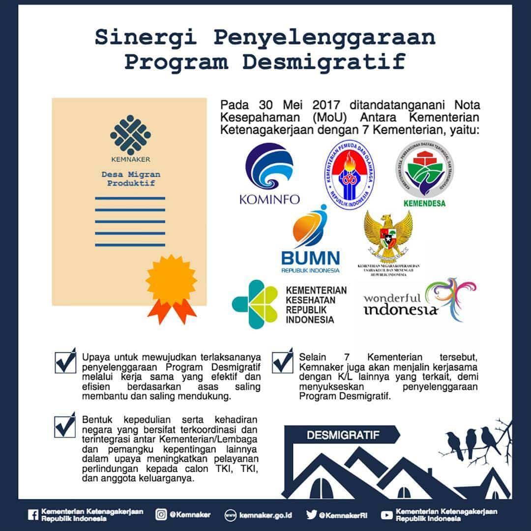 8 Kementerian Sepakat Tingkatkan Perlindungan TKI Melalui Desa Migran Produktif