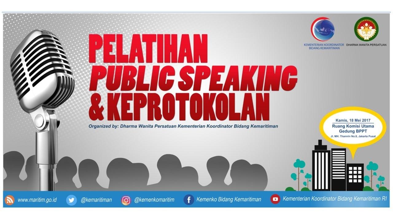 spanduk public speaking