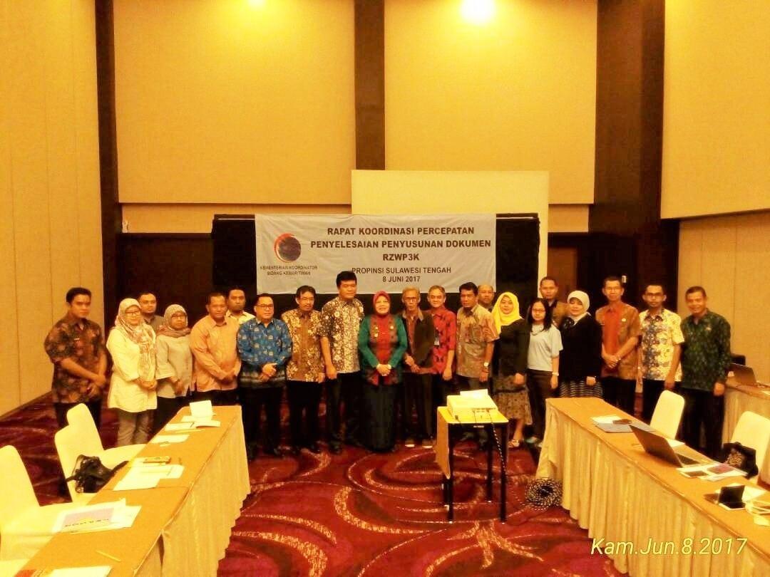 Penyusunan Final RZWP3K, Sulteng adakan kerjasama dengan Sulbar, Sultra, Gorontalo dan Maluku Utara