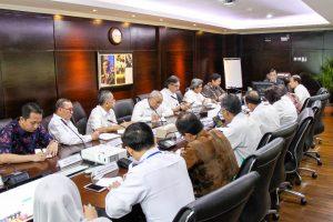 Menko Kemaritiman Luhut B. Pandjaitan Pimpin Rakor tentang Pemanfaatan Gas Masela Untuk Industri