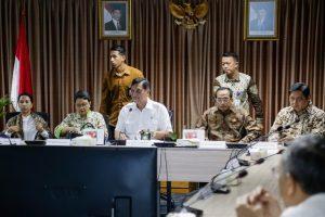 Menko Luhut Pimpin Rakor Tindak Lanjut Belt and Road Forum (BRF)