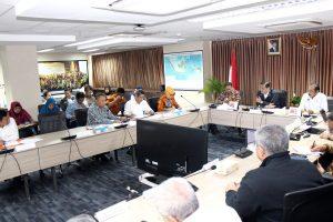 Rapat Koordinasi tentang Perkembangan Pengelolaan Danau Toba