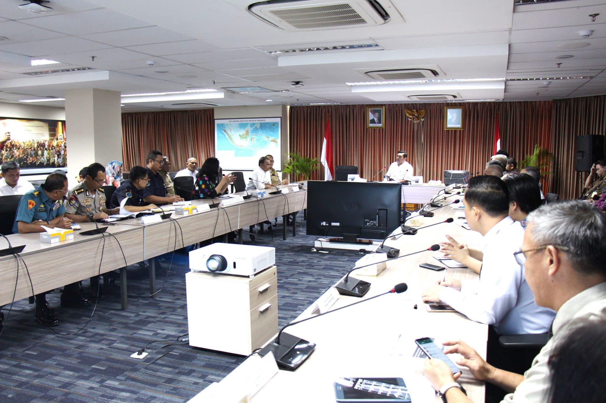 Rakor Penyelesaian Konflik Masyarakat Nelayan Pantai Binyu dan aktifitas Pertambangan Timah di Kabupaten Bangka