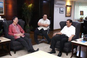 Menko Maritim Meeting dengan Citi Global dan Asia Pacific Head Jakarta