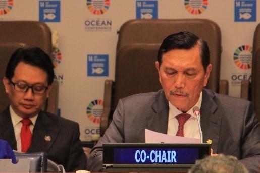 Menko Luhut Pimpin Dialog Kemitraan Konferensi Kelautan Dunia