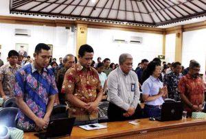 Kunjungan Kerja Deputi SDM,Iptek, dan Budaya Maritim Kemenko Bidang Kemaritiman ke Bali terkait Plastic Tar Road
