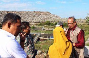 Deputi IV Bidang Koordinasi SDM,Iptek dan Budaya Maritim Meninjau Lokasi TPA Suwung, Denpasar-Bali