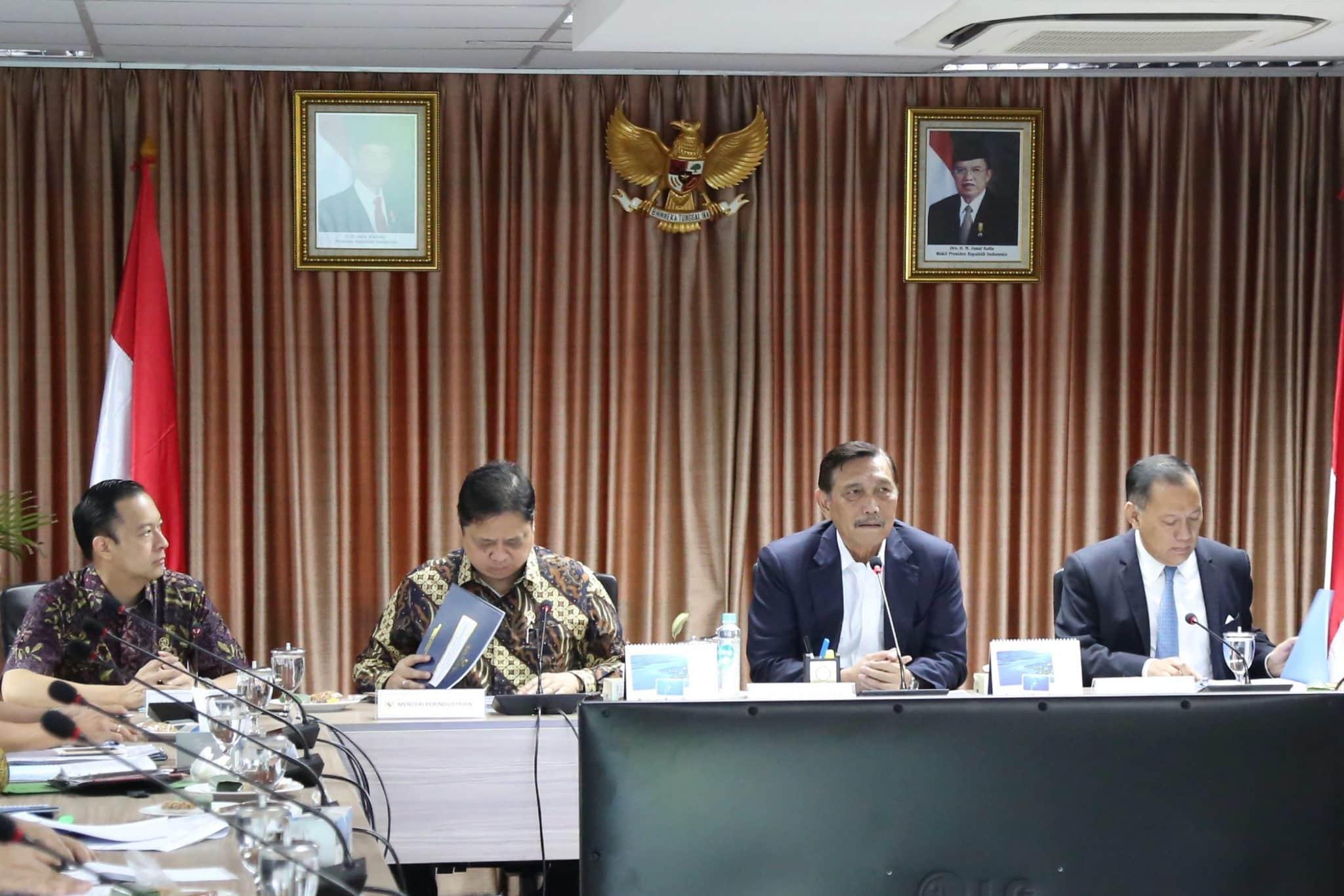 Rapat Koordinasi tentang Pengembangan Kawasan Industri Kaltara