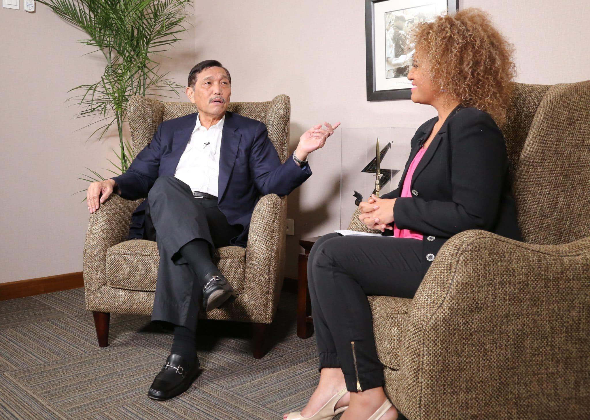 Wawancara Menko Luhut dengan Jawa Pos TV