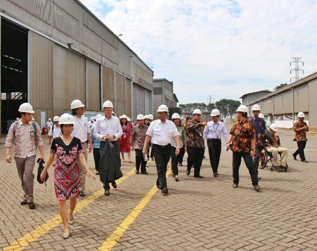 Menko Luhut Kunjungi Kantor PT. Gepsi Surabaya