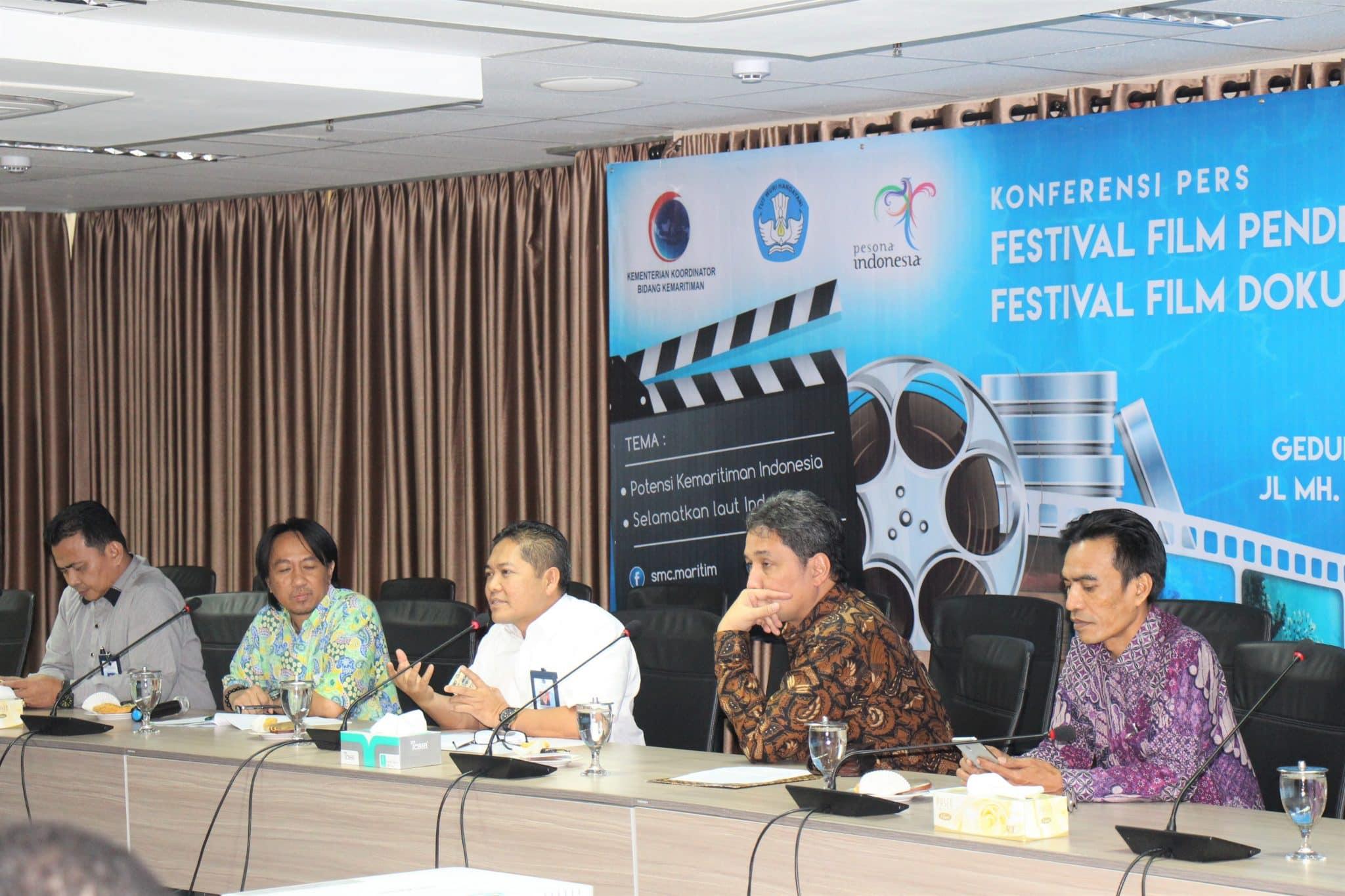 Kemenko Maritim dan Kemendikbud Resmi Luncurkan Festival Film Pendek Kemaritiman dan Festival Film Dokumenter Pelajar 2017