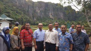 Kunjungan Lapangan Tim Kedeputian SDM, Iptek, dan Budaya Maritim ke Area Destinasi Wisata Karst Rammang-Rammang