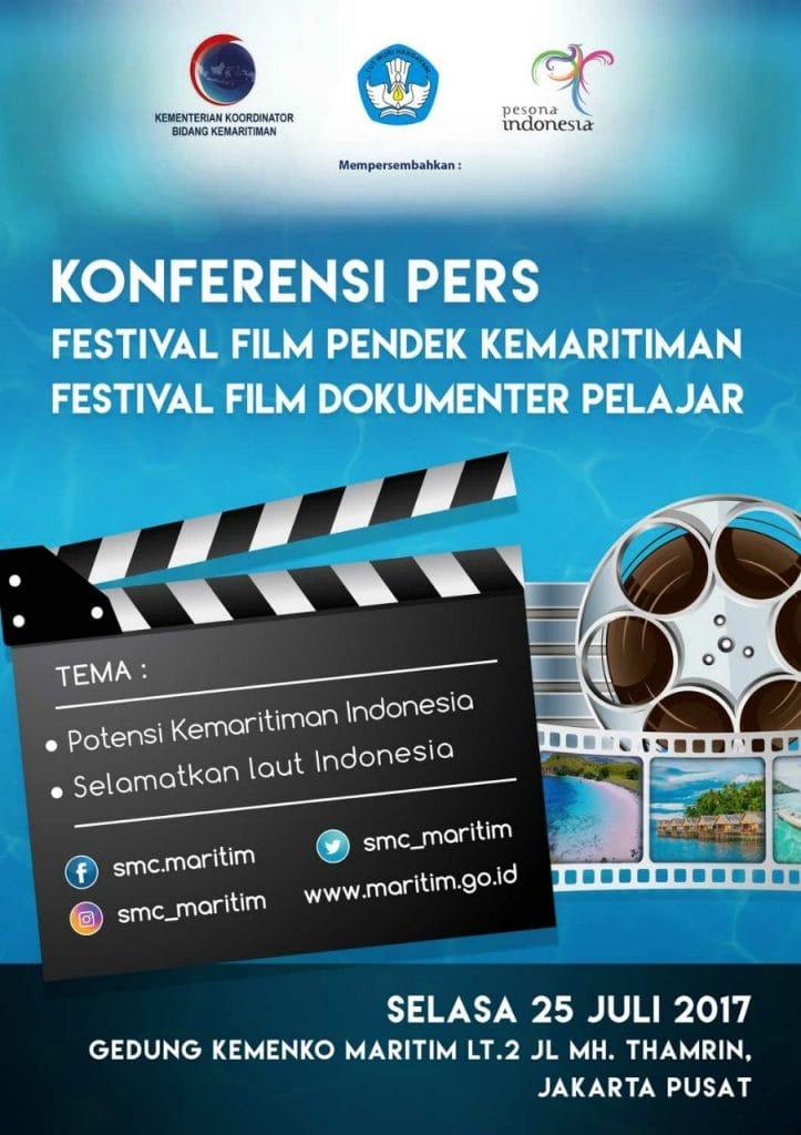 Kemenko Maritim dan Kemdikbud Undang Sineas Muda Ikuti Kompetisi Film Pendek