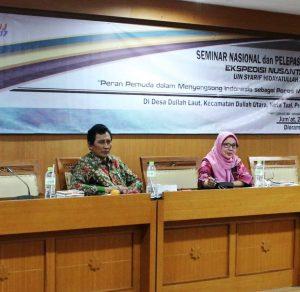 "Seminar Pelepasan Ekspedisi Nusantara Jaya (ENJ) dengan tema ""Peran Pemuda Dalam Menyongsong Poros Maritim Dunia"""