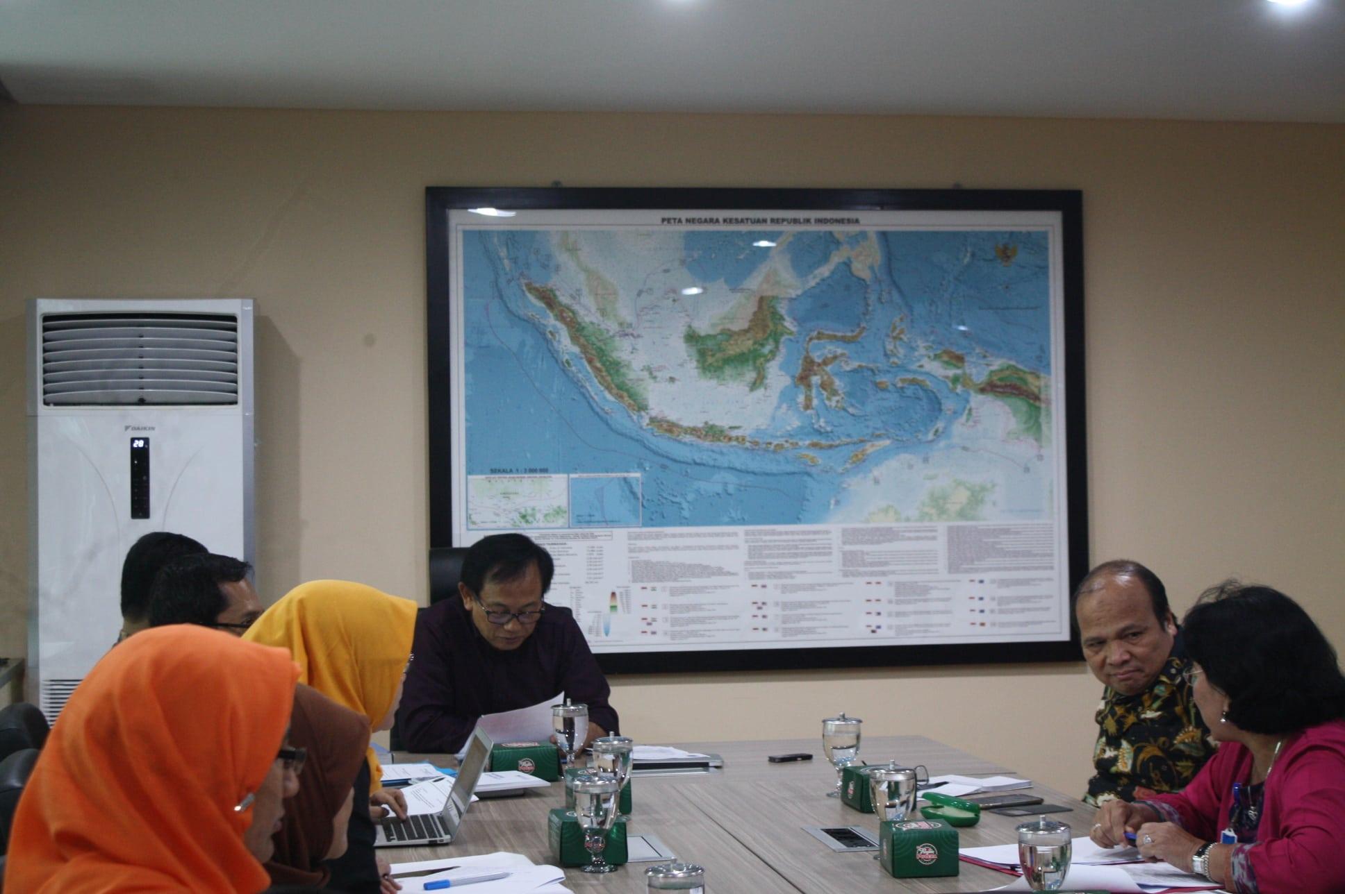 Rapat Koordinasi Penentuan Pemrakarsa tentang Landas Kontinen Indonesia di Kementerian Koordinator Bidang Kemaritiman