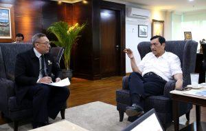 Meeting dengan Kol Laut (S) Dr. Ivan Yulivan, S.E., M.M., M.Tr. (Han) (Pasis Lemhanas RI, Pengurus INKAI