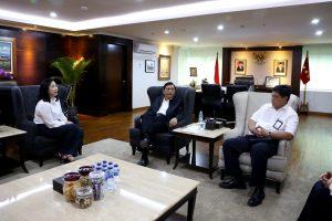 Meeting dengan Mrs. Joys Leo (Presdir/CEO Masz Group) dan Mr. Terence (Director of Business Development)